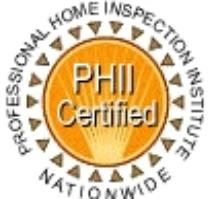 Professional Certified  Home Inspection